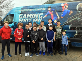 Gaming Party Van